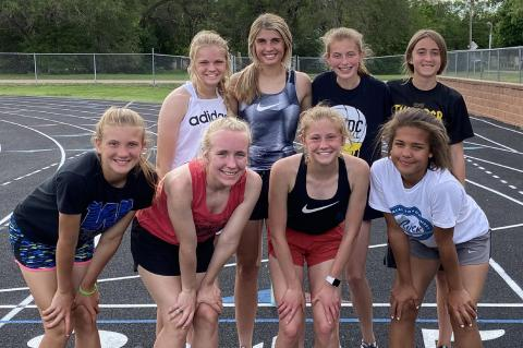 ACDC TRACK MEMBERS PARTICIPATE AT STATE