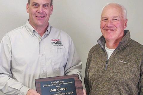 NORTH POINT MANAGER EARNS STATE PARKS' DISTINGUISHED SERVICE AWARD