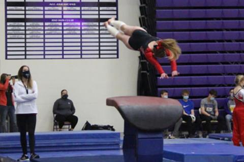 WBH GYMNASTS PLACE 3RD AT STATE TOURNEY