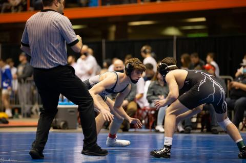BIEREMA EARNS 3RD PLACE AT STATE WRESTLING