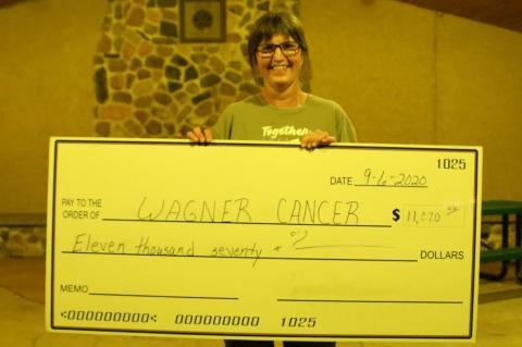 LANTERNS RELEASED AT WAGNER CANCER WALK