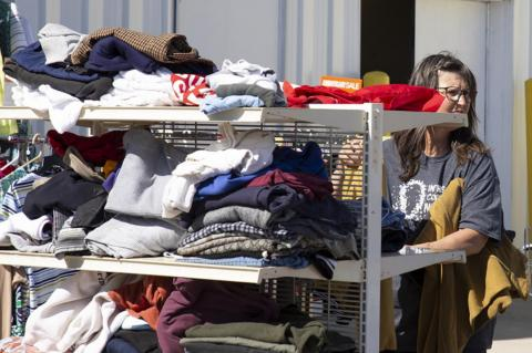 WAGNER CANCER FUNDRAISER RUMMAGE HELD & CONTINUES FRIDAY