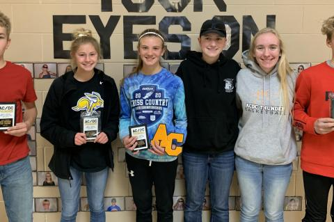 ANDES CENTRAL/DAKOTA CHRISTIAN CROSS COUNTRY END-OF-SEASON AWARDS PRESENTED