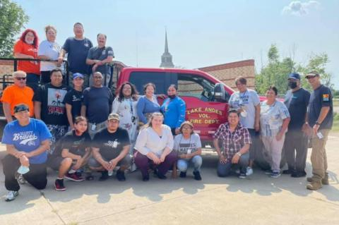 MARTY INDIAN SCHOOL CERT TEAM COMPLETES TRAINING