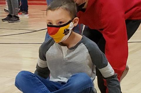 ELEMENTARY STUDENTS PARTICIPATE IN WINTER OLYMPICS