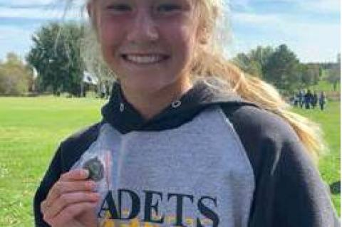 ISABELLA BROUWER TO COMPETE AT STATE CROSS COUNTRY