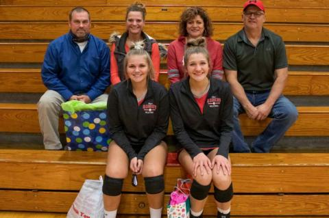 LADY RED RAIDERS TOP SCOTLAND IN 4 SETS