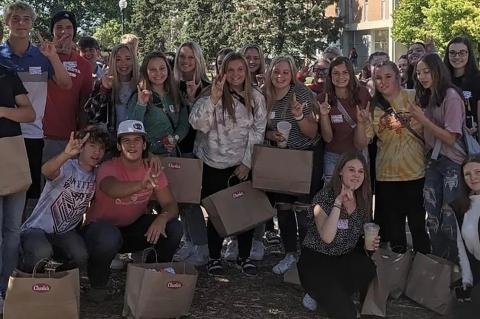 USD HOSTS STUDENTS INTERESTED IN TEACHING