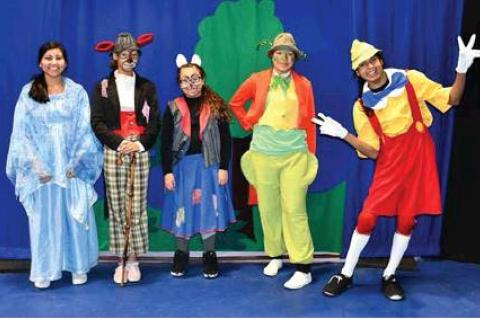 """MISSOULA CHILDREN'S THEATER PLAY """"PINOCCHIO"""" AT MARTY"""