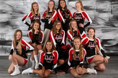 WAGNER CHEER TEAM COMPETES AT 2020 STATE CHEER COMPETITION