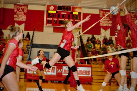 LADY RED RAIDERS EARN HOMECOMING WIN OVER AVON