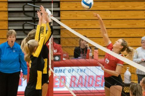 LADY RED RAIDERS STORM PAST AC/DC THUNDER