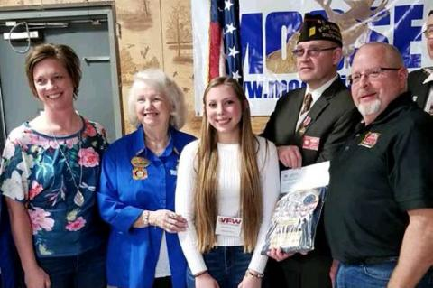 ROBERTS WINS SD VFW VOICE OF DEMOCRACY CONTEST