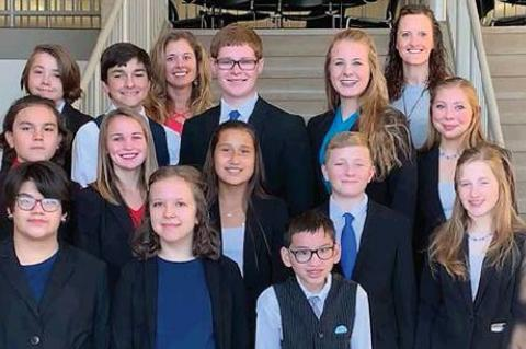 20TH LEWIS AND CLARK INTERP INVITATIONAL