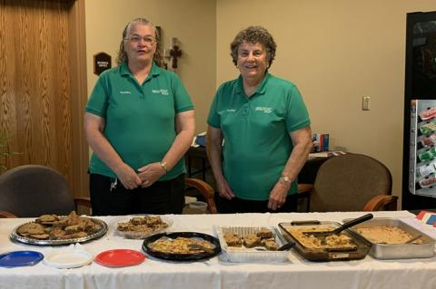 WAGNER HOSPITAL AUXILIARY HOLD MAY MEETING AND HONOR HEALTHCARE WORKERS
