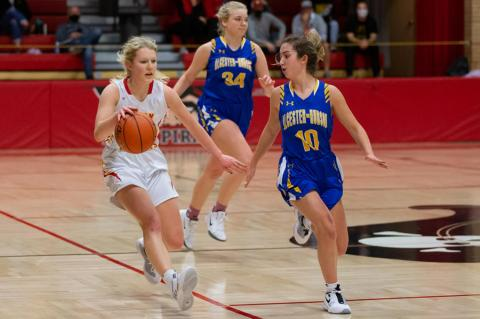 LADY PIRATES HAVE BUSY WEEK WEEK ON THE COURT