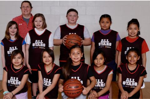 BOYS & GIRLS CLUB BASKETBALL SEASON ENDS