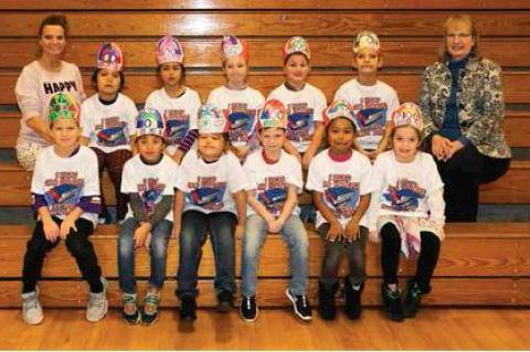 TOP READERS RECOGNIZED ON 100TH DAY OF SCHOOL