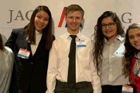 STUDENTS ATTEND JAG NATIONAL STUDENT LEADERSHIP ACADEMY