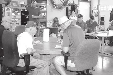 SPRINGFIELD POST 132 HOSTS AREA VSO'S AT MONTHLY MEETING