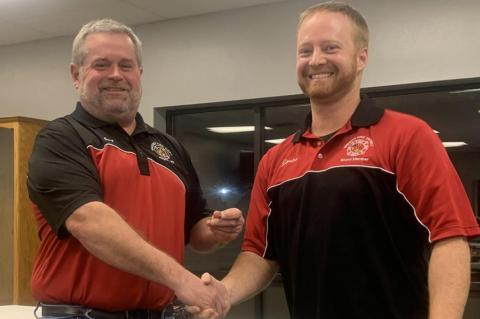 FIREMEN HONORED FOR SERVICE