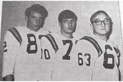 1970 ALL-CONFERENCE EAGLES