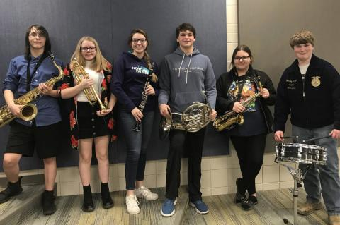 ANDES CENTRAL HIGH SCHOOL INSTRUMENTAL CONTEST RESULTS