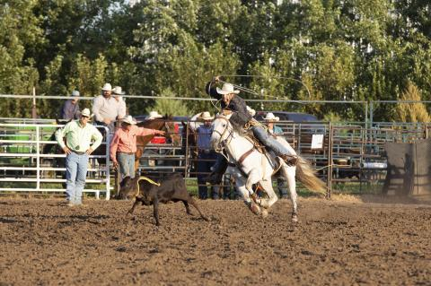 CHARLES MIX SADDLE CLUB RODEO HELD