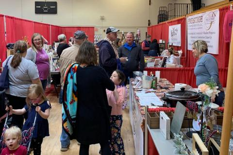 FARM, HOME, GARDEN & SPORTS SHOW WELL ATTENDED
