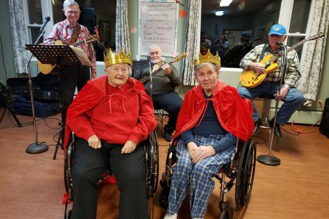 VALENTINE'S DAY KING AND QUEEN CROWNED