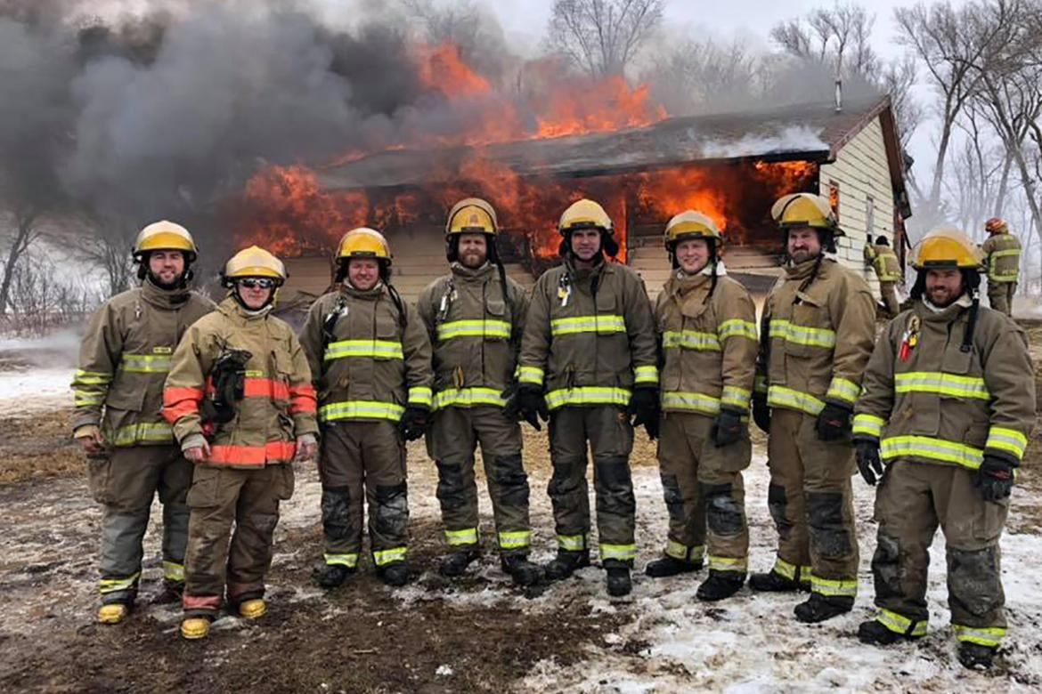 LOCAL FIREMEN BECOME CERTIFIED