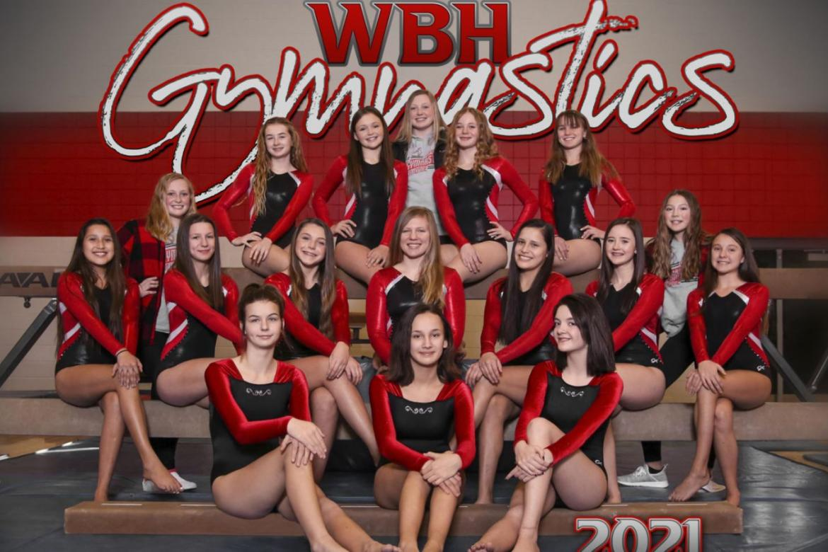GOOD LUCK GYMNASTS AT STATE