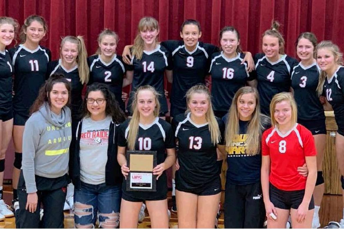 WAGNER RED RAIDERS CLINCH LMVC TITLE