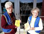 AUXILIARY DELIVERS DICTIONARIES FOR WAGNER 3RD GRADERS
